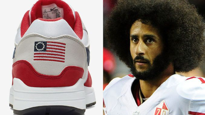 Nike has walked back its decision to release a red, white and blue version of its Air Max 1 sneakers after Colin Kaepernick complained.