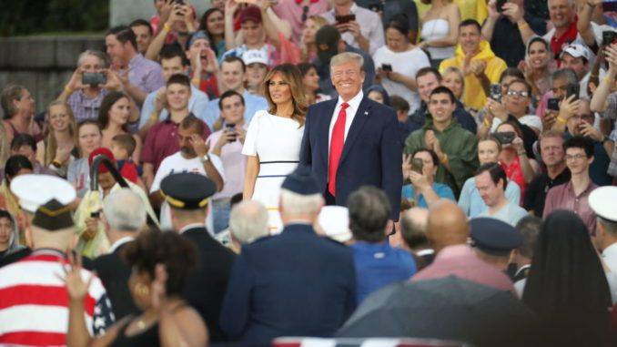 President Trump's approval rating hits 50 percent following Independence Day parade