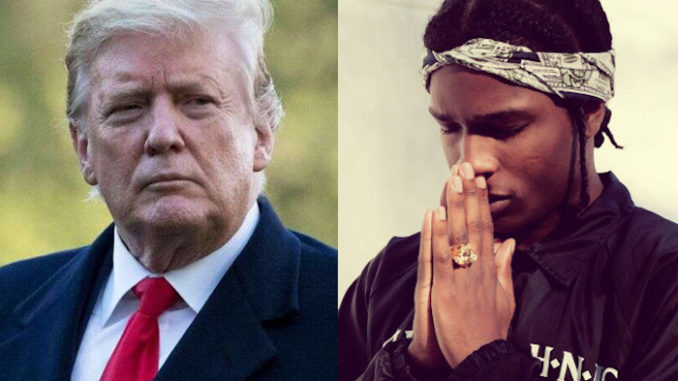 Trump vows to free rapper ASAP Rocky from Swedish jail