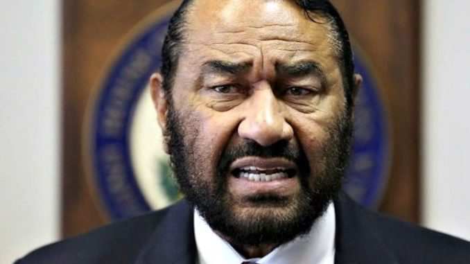 Democratic Rep. Al Green files articles of impeachment against President Donald Trump