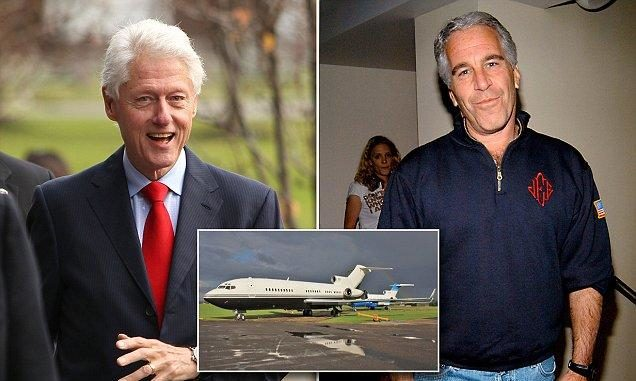 Epstein's Wikipedia Page Edited To Remove Ties To Bill Clinton plus MORE Clinton-epstein-lolita-express-636x381