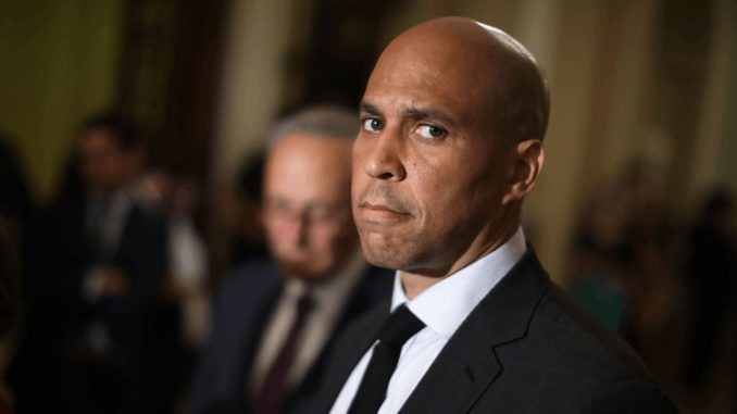 Cory Booker says Trump is worse than a racist
