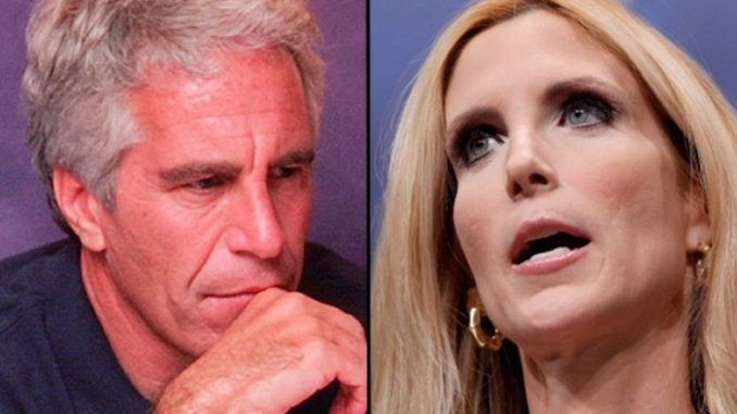 Ann Coulter calls for Jeffrey Epstein to be moved to maximum security prison before he is 'suicided'