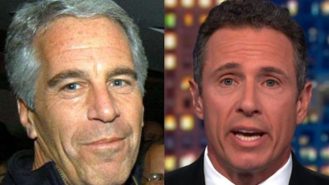 "CNN host Chris Cuomo instructed viewers not to get ""caught up"" in the ""intrigue"" of who Jeffrey Epstein was friends with."
