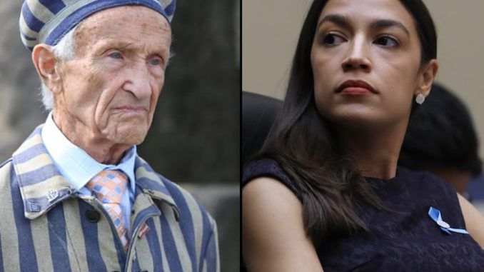 "A 93-year-old Holocaust survivor has described Alexandra Ocasio-Cortez's comparison of border camps and concentration camps as ""evil."""