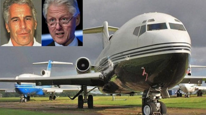 Interior photos of Jeffrey's Epstein's notorious 727 jet, known as the Lolita Express, have been revealed for the first time.