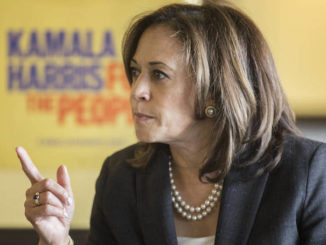 """Sen. Kamala Harris said that """"writing a check"""" to the descendants of slaves is just not """"going to be enough"""" when it comes to reparations."""