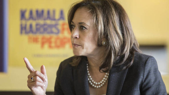 "Sen. Kamala Harris said that ""writing a check"" to the descendants of slaves is just not ""going to be enough"" when it comes to reparations."