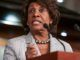 Maxine Waters warns impeachment first then prison next for Trump