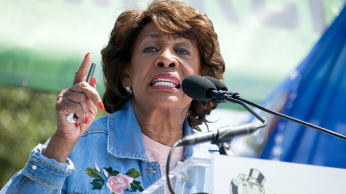 Maxine Waters slams President Trump as an illegitimate racist occupying the White House