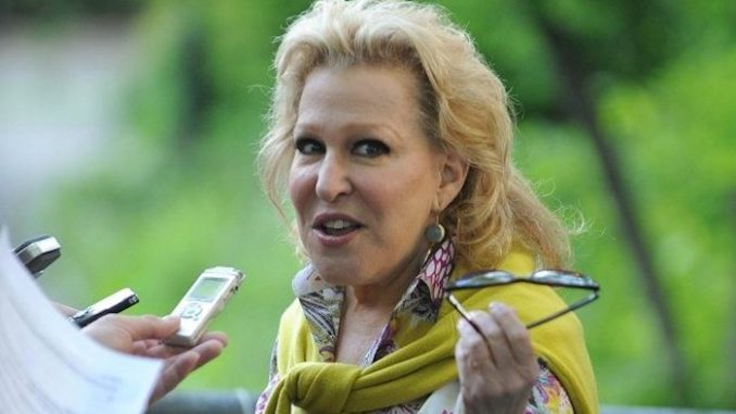 """Foul-mouthed actress Bette Midler has accused President Trump of """"raping us all with impunity,"""" following Robert Mueller's disastrous testimony to Congress on Wednesday."""