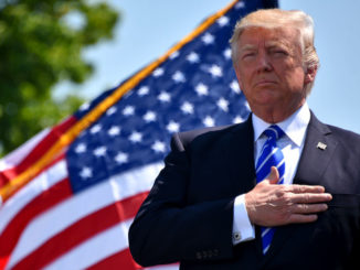 President Trump promises that America will never be a socialist country