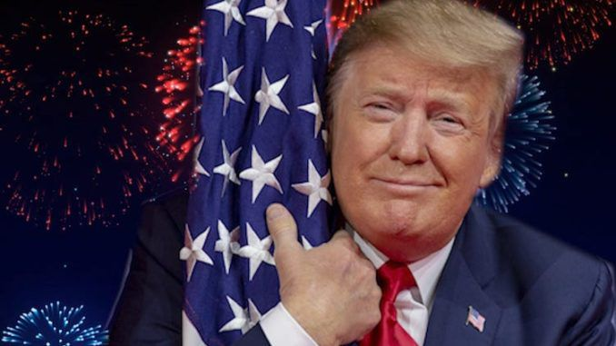 Many large mainstream TV networks have decided not to air President Donald Trump's Fourth of July celebrations in full.