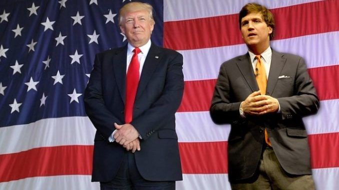 President Trump urged to pick Tucker Carlson as Vice President for 2020 campaign