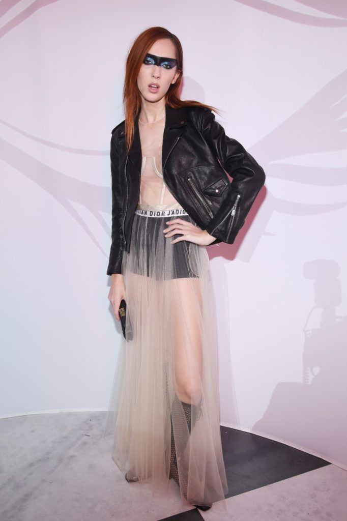 Teddy Quinlivan attends Le Bal Surrealiste Dior during Haute Couture Spring Summer 2018 show as part of Paris Fashion Week on January 22, 2018 in Paris, France.