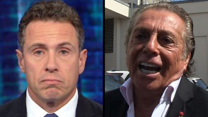 """Gianni Russo, who played Carlo Rizzi in The Godfather, shredded CNN host Chris Cuomo in an interview Saturday over Cuomo's public meltdown after a person called him """"Fredo."""""""