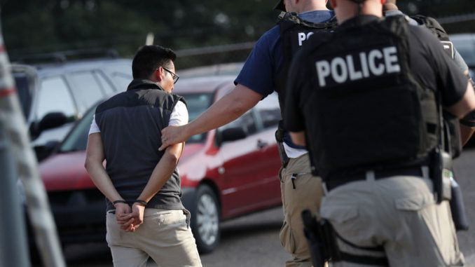 ICE conduct biggest single-state raid in US history
