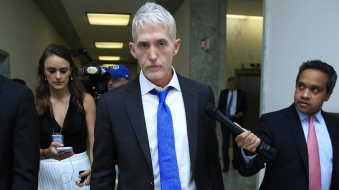 Trey Gowdy says he'll apologize to James Comey when it snows in hell