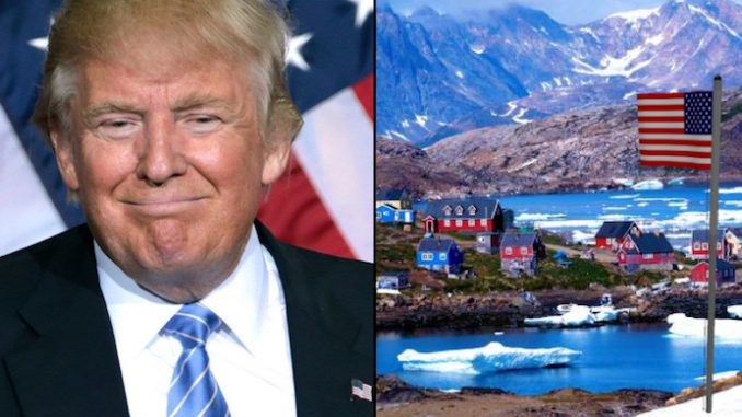 President Trump wants to purchase Greenland from Denmark