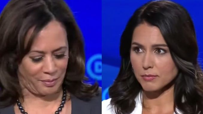 Woke Twitter users accuse Tulsi Gabbard of working with Russia to bring down Kamala Harris