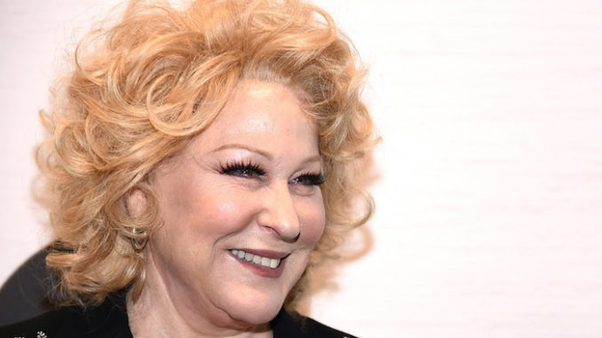 POTUS Incited Gunmen to Do His 'Dirty Work for Him': Bette Midler