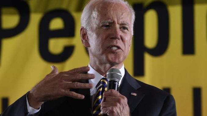 Joe Biden compares President Donald Trump to the ku klux klan
