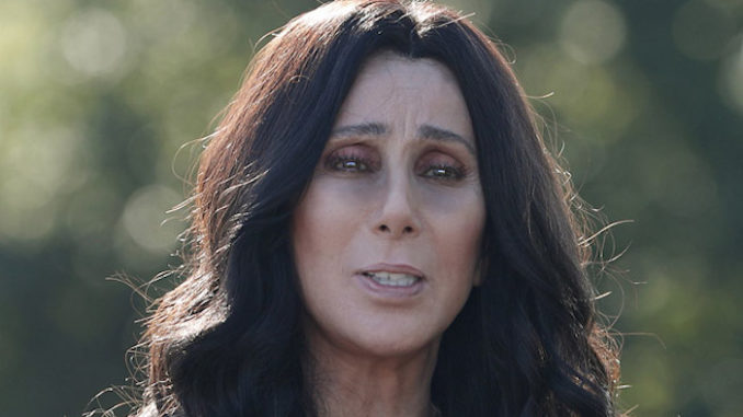 """Pop icon and budding conspiracy theorist Cher claims that only gullible people don't think President Donald Trump """"has people"""" to """"change votes in his favor."""""""