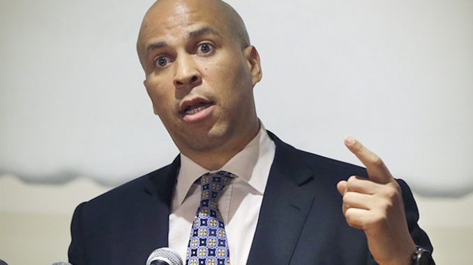 Cory Booker blames Russia for suppressing African-American votes