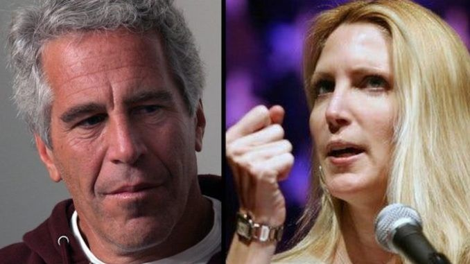 Ann Coulter says Jeffrey Epstein's powerful sponsors have escaped justice again