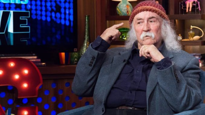 """Fading rock star David Crosby said in an op-ed that President Donald Trump is """"completely under the control of Russia"""" and suggested that the GOP intends to win again in 2020 with the help of the Kremlin."""