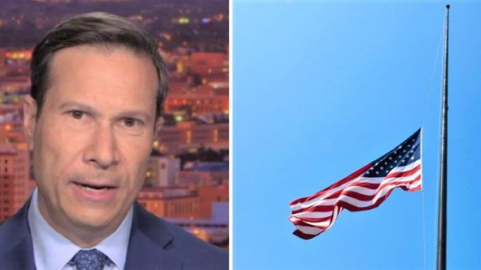 President Trump's decision to fly US flags half-mast until 8/8 could be seen as a nod to Hitler, says NBC News contributor Frank Figliuzzi.