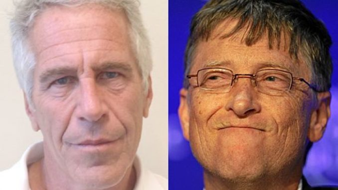 Bill Gates refuses to explain why he flew on Jeffrey Epstein's infamous Lolita Express private plane