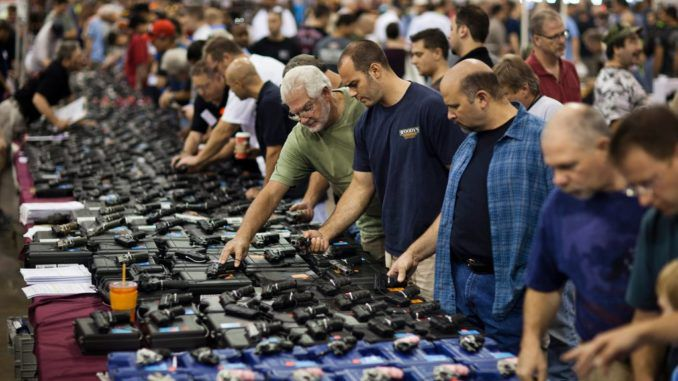 American gun sales surge following mass shootings