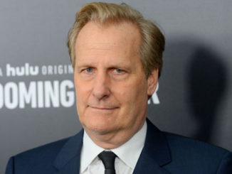 """Actor Jeff Daniels appeared on The Late Show Tuesday and told Stephen Colbert that President Trump's challenger needs to be somebody who can """"punch him in the face."""""""