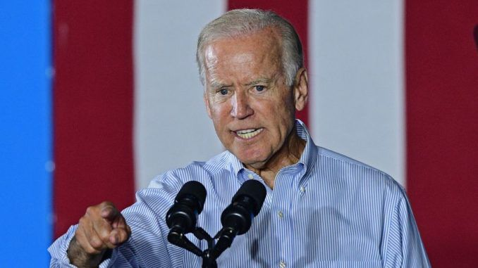 Democratic presidential hopeful Joe Biden vows to beat the NRA following El Paso shooting