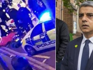 Machete attack leaves British police officer in critical condition in Sadiq Khan's London