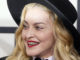 Madonna sings about assassination in front of her children