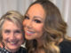 "Pop star Mariah Carey posted a tweet Monday to celebrate meeting Hillary Clinton, whom she referred to as ""President Clinton."""