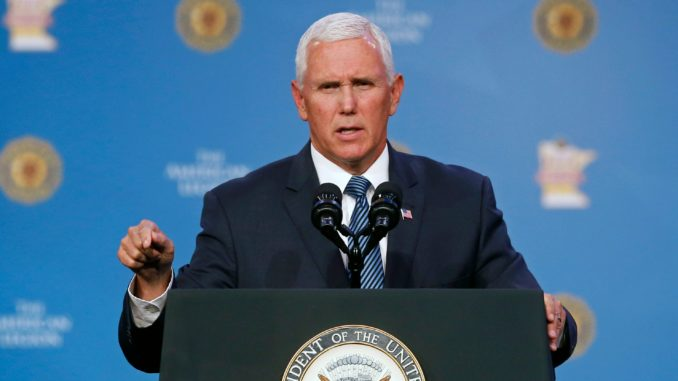 Mike Pence says VA hospitals will not be religious-free zones
