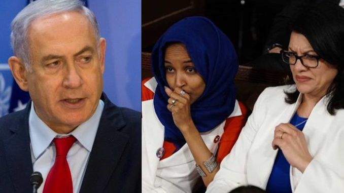 Israeli PM Benjamin Netanyahu is considering a proposal to ban Reps. Ilhan Omar (D-MN) and Rashida Tlaib (D-MI) from entering the country.
