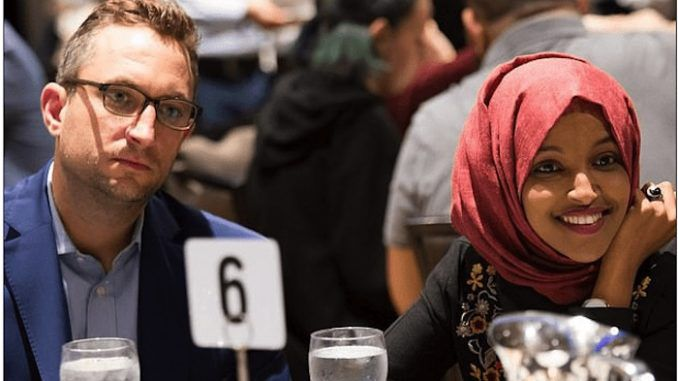 A Washington, DC, mom says her husband abandoned her and their child for Rep. Ilhan Omar, according to a bombshell divorce filing.