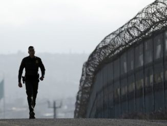 The Border Patrol in San Diego has released video footage of Mexicans attempting to scale over the new border barrier and failing.