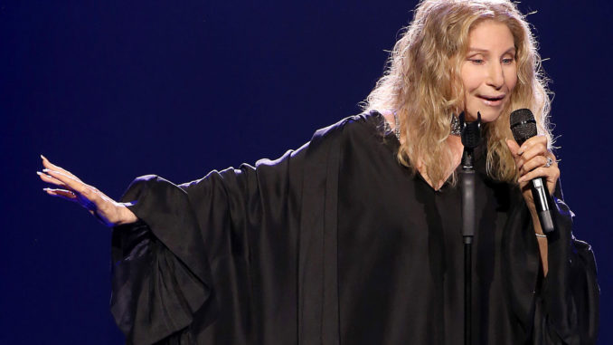 Barbra Streisand made her Madison Square Garden concert Saturday all about politics, praising the Clintons and trashing President Trump.