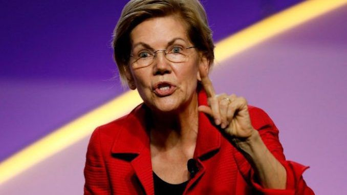 Elizabeth Warren blames Trump for El Paso shooing whilst completely ignoring the fact that Dayton shooter was a Warren supporter