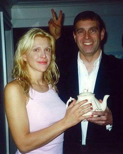 "Courtney Love has claimed Prince Andrew turned up at her house at 1am ""looking for sex."" She has also accused Epstein's friend of ""looking for chicks"" at a literary festival."