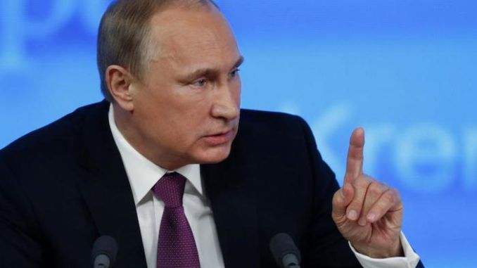 """Russian President Vladimir Putin says globalism has not benefited the US middle class, saying """"it was left out when this pie was divided up."""""""