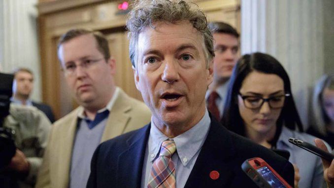 Rand Paul says threat of war is reduced now that Bolton is out