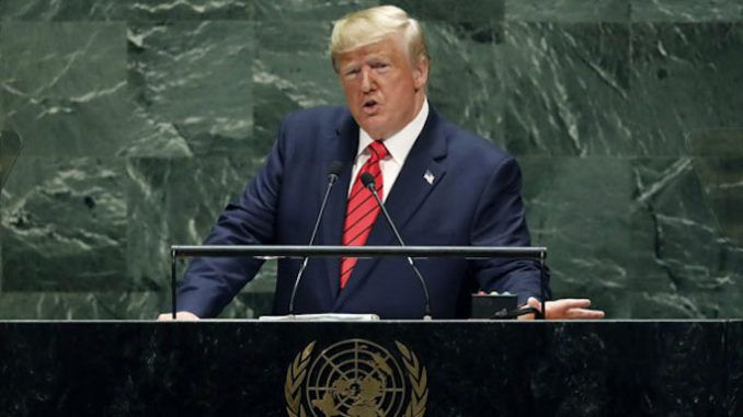 President Trump tells UN that the future belongs to patriots, not globalists