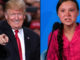 President Trump trolls Greta Thunberg, says she seems like a happy girl