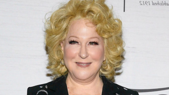 "Hollywood actress and leftist Bette Midler made the wild claim that President Donald Trump could ""literally"" shoot someone on the streets of New York City before the end of this year."
